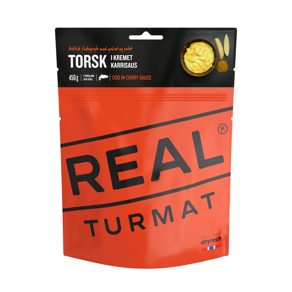 Real Turmat  Torsk i kremet karrisaus 500 gr