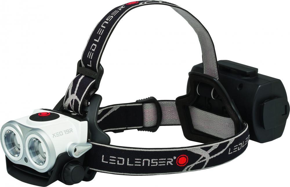 Led Lenser  Hodelykt XEO 19R 2000lm m/tilbeh.