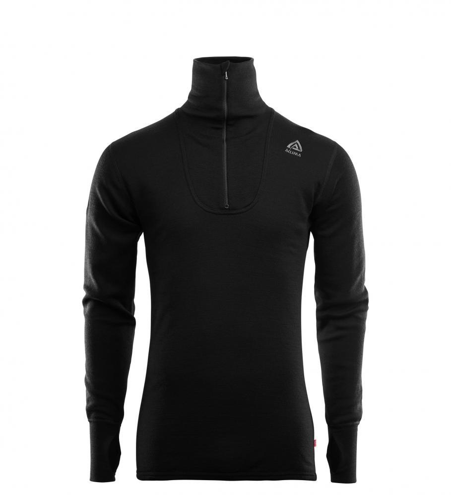 Aclima  DoubleWool Polo Shirt zip, Man