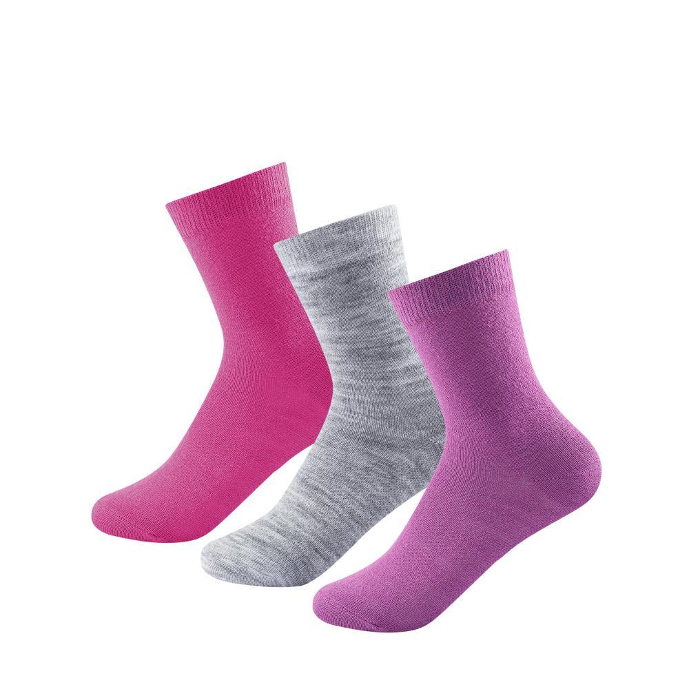 Devold  Daily Light Kid Sock 3pk