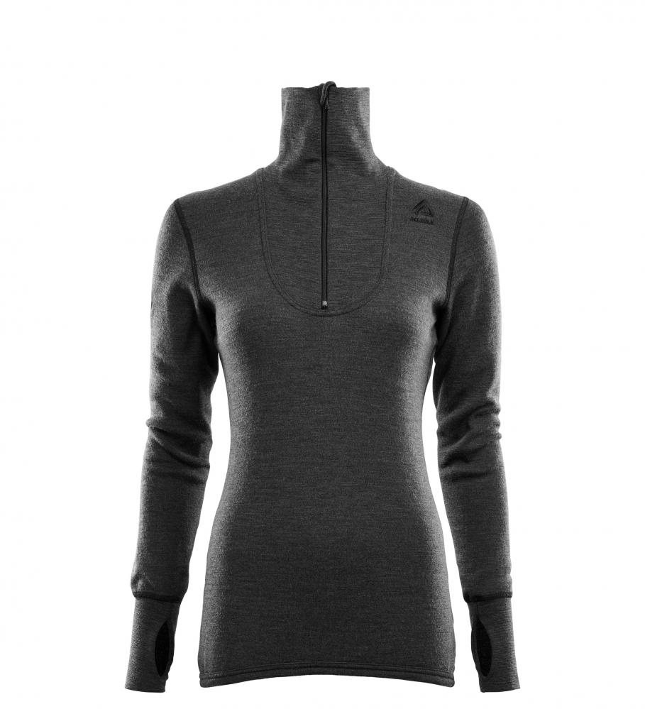 Aclima  DoubleWool Polo Shirt zip, Wom