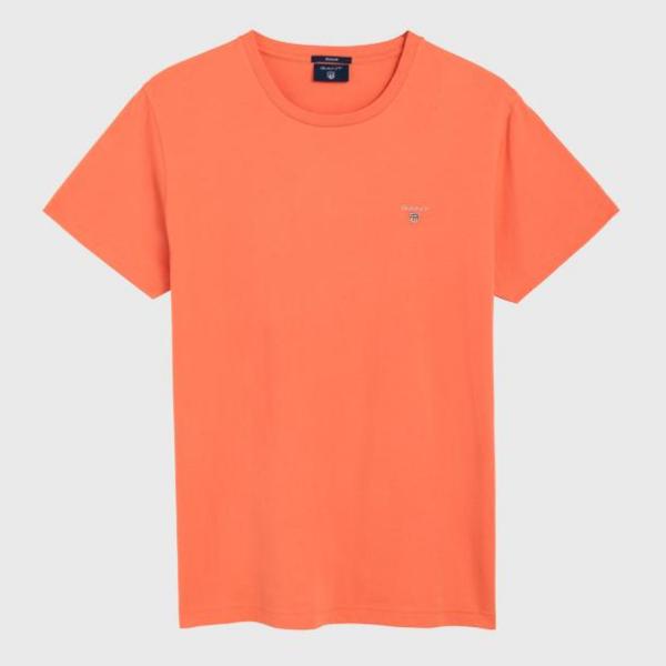 Rød The Original Ss T Shirt   Gant   T skjorter   Miinto.no