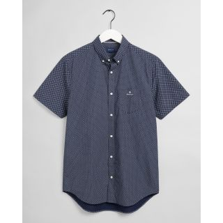Gant Reg Micro Dot Ss Skjorte