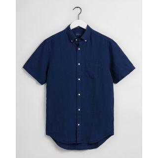 Gant Reg Linen Shirt Ss Bd