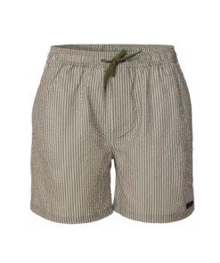 Les Deux Quinn Seersucker Swim Shorts