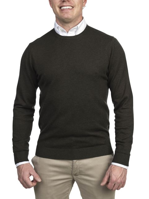 Hansen & Jacob Crewneck Sweater Alcantara