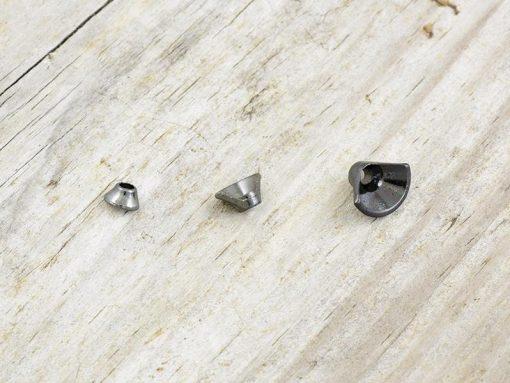 Frodinflies FITS Tungsten Half Turbo Cone Black Nickel