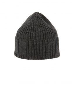 MJM Beanie 100% Wool Grey