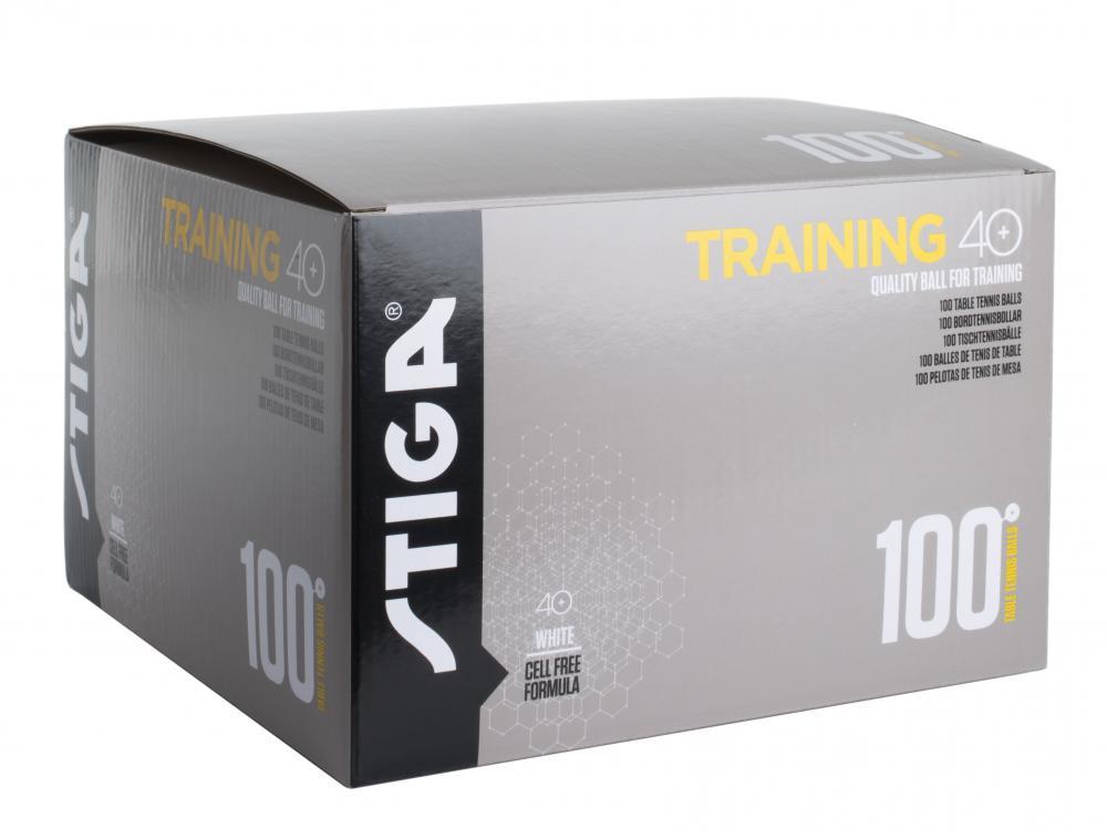 Stiga  Training 40+ White 100pk