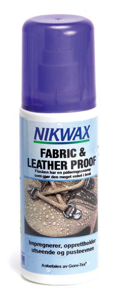 Nikwax  Spray On Fabric&Leather 24x125 ml