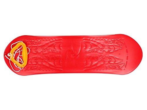 Snowboard kids, plastkon, rød