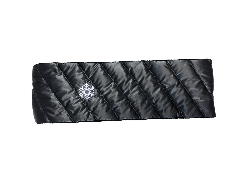 Thermopoc  Pannebånd i dun sort 85x660mm