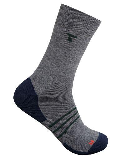 Tufte Wear  Unisex Merino Light Crew Socks, ullsokker