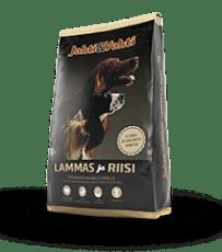 JAHTI&VAHTI LAMMAS JA RIISI 10 KG, hundefor