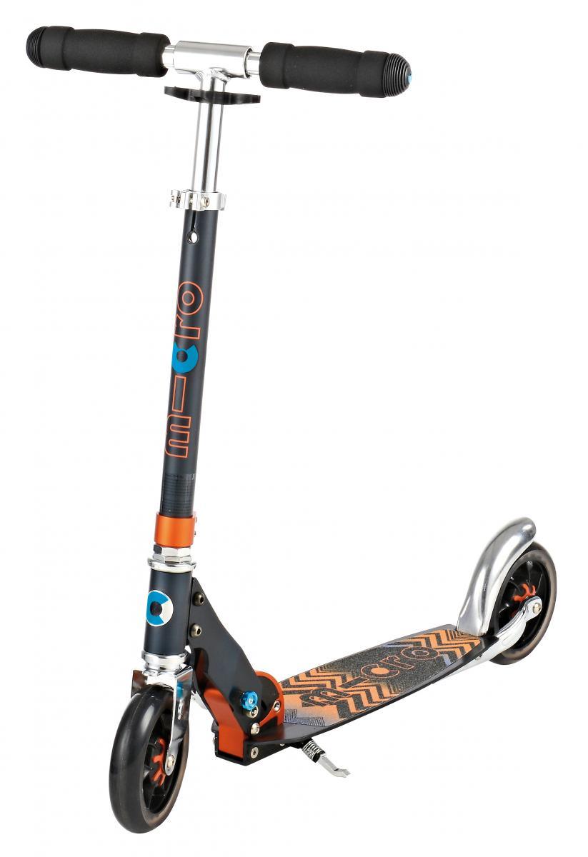 Micro  Speed+ Black/Orange 7+,  sparkesykkel