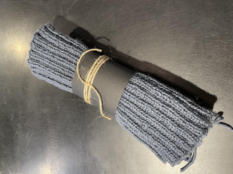 Yogasokker, strikket, ull