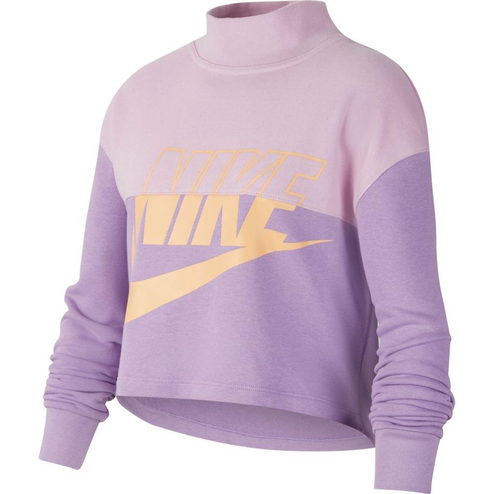 Nike  G NSW CROP CREW, genser, jente