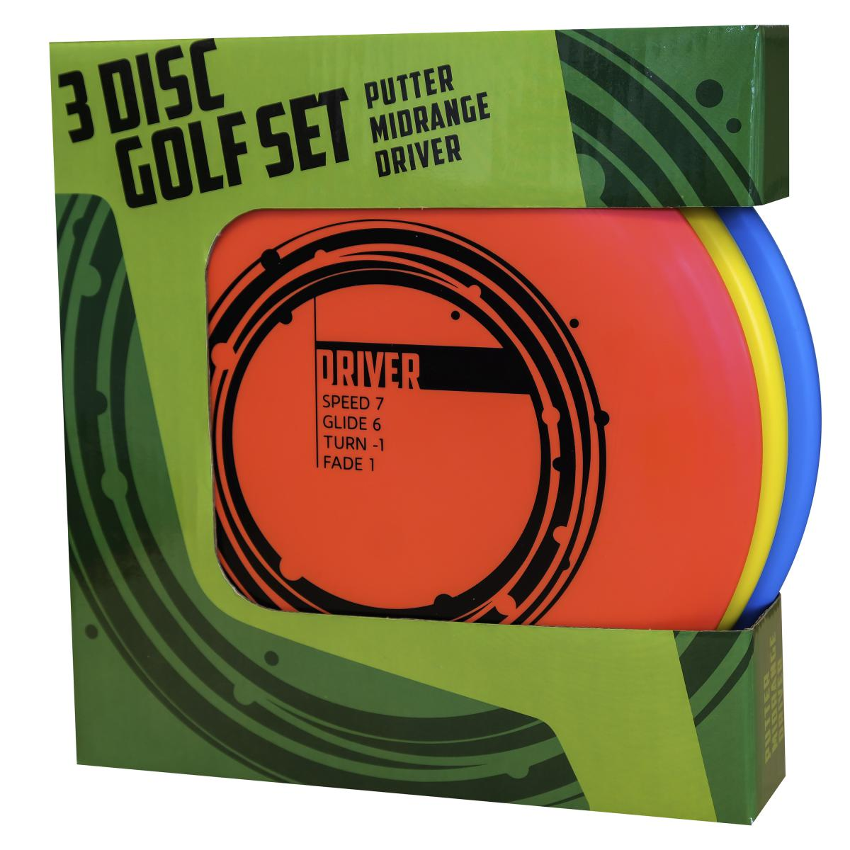 Disc Golf Basic Starter set 3 Pack
