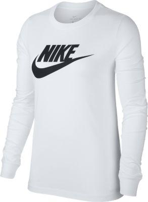 Nike  W Nsw Tee Essntl Ls Icon Ftr, dame