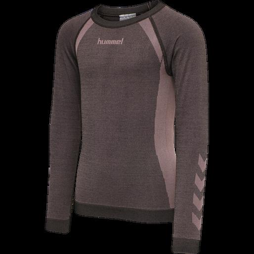 Hummel  Hmlspin Seamless T-Shirt L/S, t-skjorte, barn