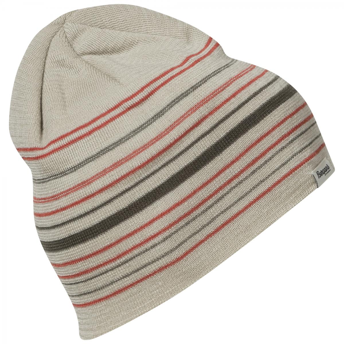 Bergans  Striped Beanie. lue, unisex