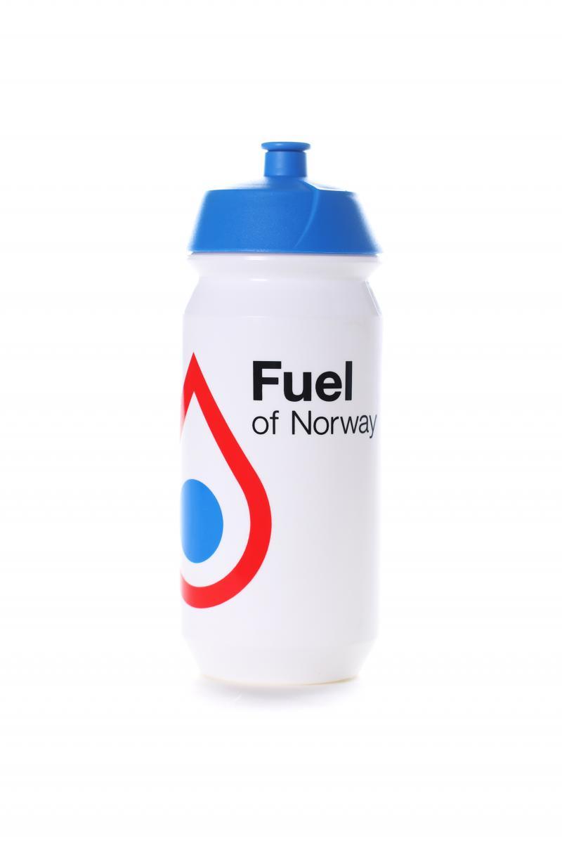 Fuel of Norway  Drikkeflaske 0,5L Blå kork