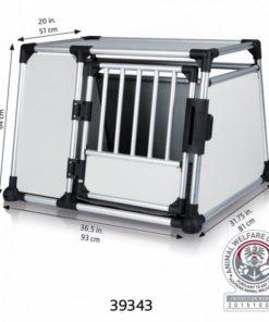 TRANSPORTBUR Trixie, Aluminium, L,  93x65x81cm.