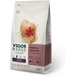 Vigor&Sage Wolfberry Well-Being, Kitten, 10kg.