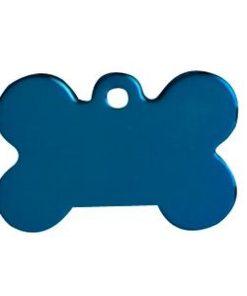 ID-MERKE Hundebein, Stort, blått