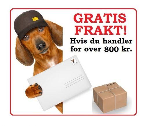 GRATIS FRAKT!
