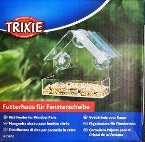 FUGLEMATER Trixie, for vindu