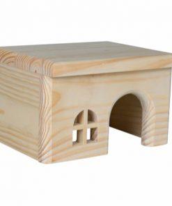 Træhus, Hamster, 15 × 12 × 15 Cm