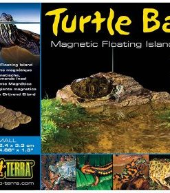 TURTLE BANK ExoTerra, S, m/magnetfeste 16.6x12.4x3.3cm.