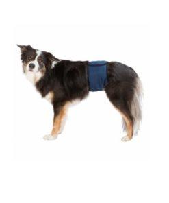 MAGEBÅND Trixie, for Hannhund , S: 29–37cm, Mørk Blå