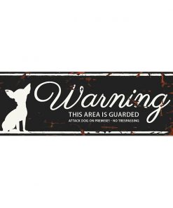 "SKILT Chihuahua ""Warning...""  lite"