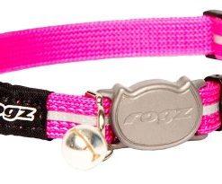 Rogz Alleycat Halsband S Rosa 11Mm 20-31Cm