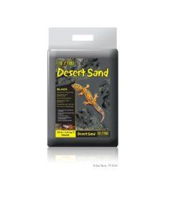 DESERT SAND ExoTerra, Svart, 4.5kg.