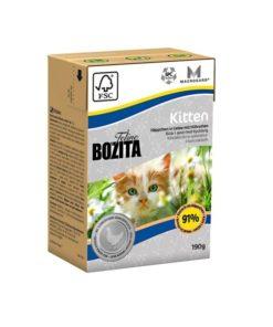 BOZITA Kitten, 190g. Kyllingbiter i gelè