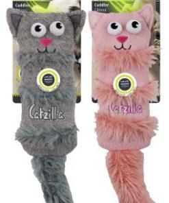 Catzilla Cuddler Mix Färg 38Cm