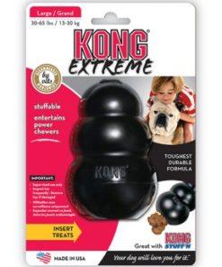KONG Extreme, Svart, L, 11x7cm.
