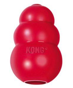 KONG Classic, Rød, S, 8x5cm.