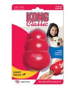 KONG Classic, Rød, L, 11x7cm.