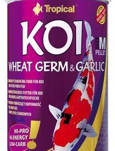 Tropical Koi Wheat Germ & Garlic Pelletsize M 1000