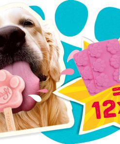 Smoofl Ice Treat Mix Til Hund, 105 G, Jordbær