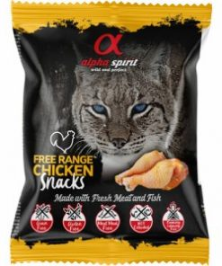Cat Free Range Chicken Snack, Alphaspirit, 50 G