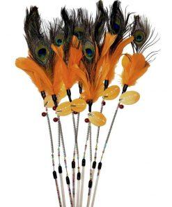 TEASER Comanche, Brun/Orange, 65cm.
