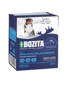 BOZITA Hund, Naturals, Reinsdyr, 370g.