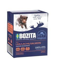 BOZITA Hund, Naturals, Laks, 370g.