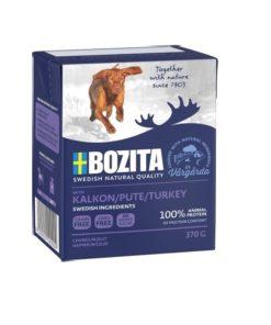 BOZITA Hund, Naturals, Kalkun, 370g.