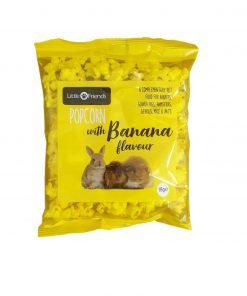 POPCORN Little Friends, Banansmak, 18g.